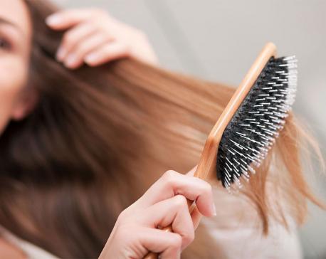 Right hair brush for various hair types