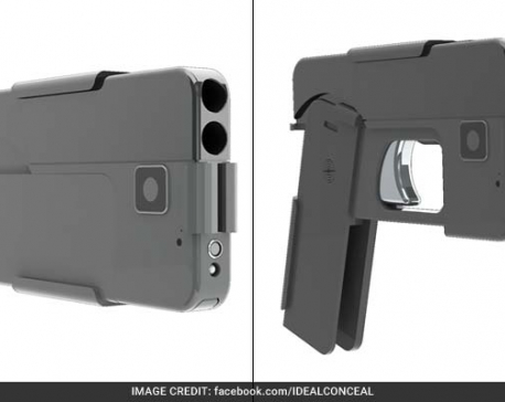 Foldable 'iPhone gun' puts Europe police on alert