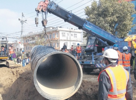 Melamchi water to reach capital by Sept-end: Minister