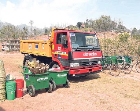 Panauti Municipality going green