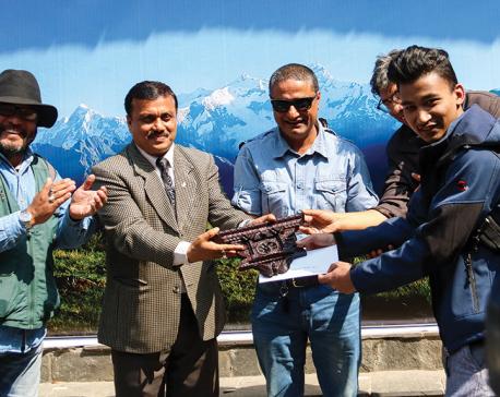 Prasanna Bajracharya wins Photo Nepal contest