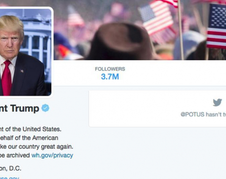 how to follow donald trump on twitter