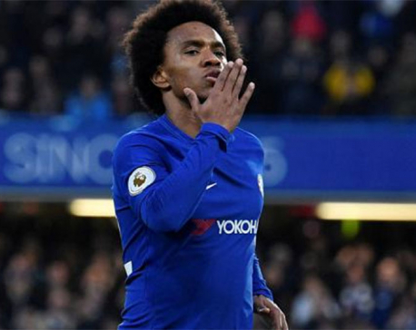 Willian is Chelsea's main man ahead of Barca showdown