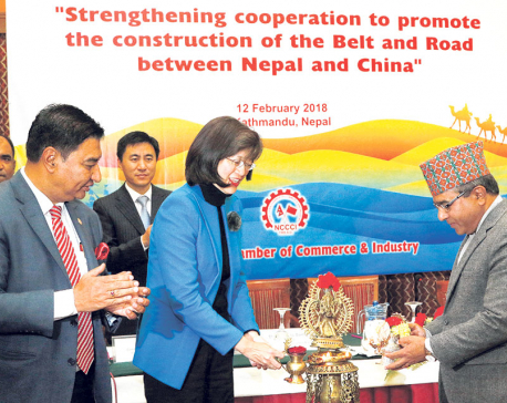 Seminar on Belt and Road Initiative held