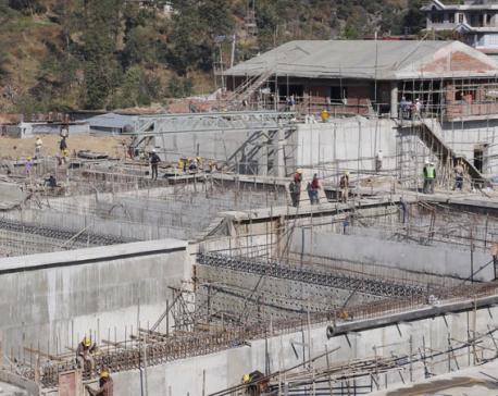 95 percent work of Sundarijal Water Treatment Plant completed
