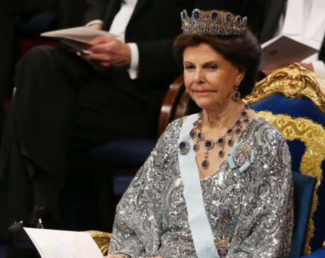 Ghosts haunt our palace, says Swedish queen