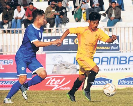 Three Star into Simara Gold Cup final