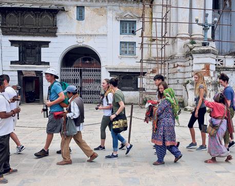 Tourism receipts up 27 percent to Rs 34 billion