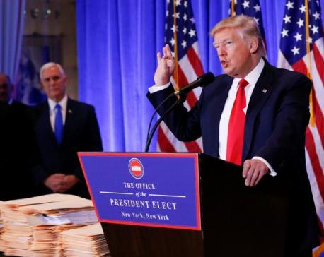 Trump accuses U.S. spy agencies of Nazi practices over 'phony' Russia dossier