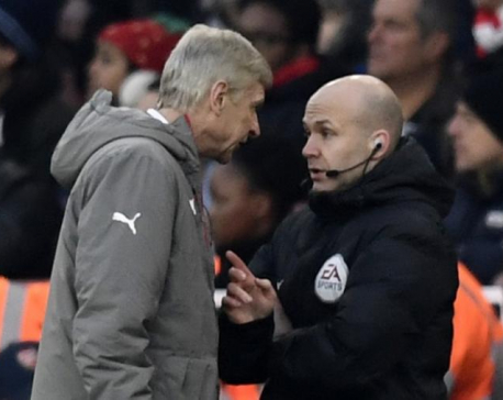 Wenger will accept FA misconduct charge