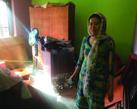 Thimi area limping back to normal after flood