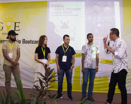 Global Entrepreneurship Bootcamp held in Jakarta