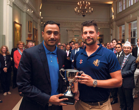 Rain hampers Nepal's day out at Lord's