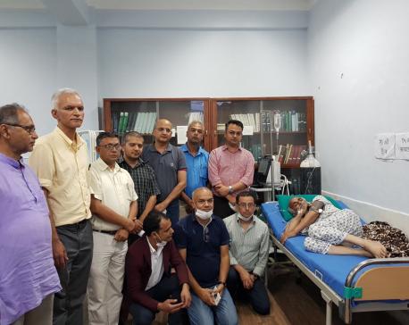 Editors of mainstream media express solidarity to Dr KC's demands, appeal govt to meet his demands