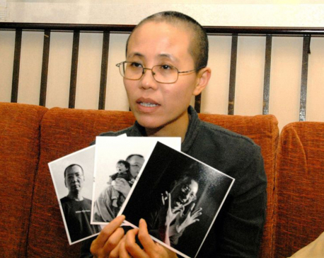 Widow of Chinese dissident Liu Xiaobo leaves China for Germany