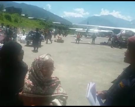 Stranded 1,225 Indian pilgrims airlifted to Nepalgunj, Surkhet