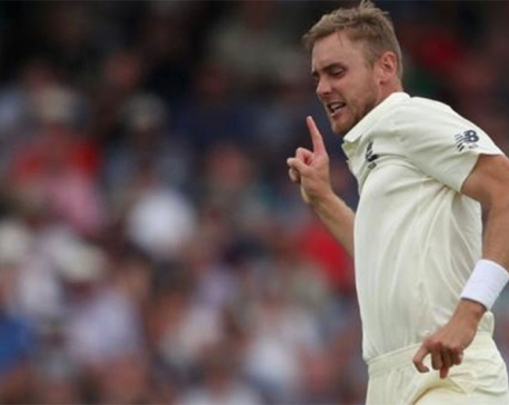 England's Broad expects pace rotation during India tests