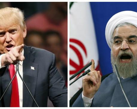 Trump Threatens Rohani, Iran With Historic Consequences