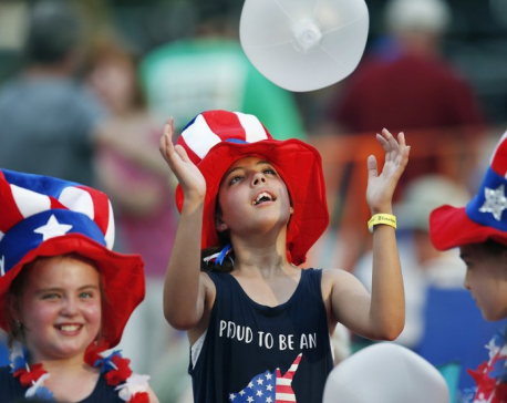 On July 4, Americans celebrate their union, rue divisions