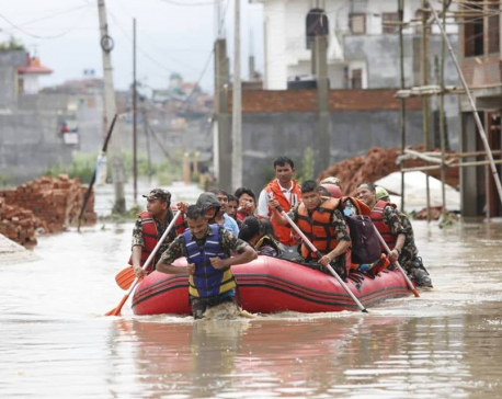 Flood and inundation damage Rs 119.3 million in Bhaktapur