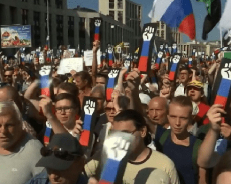Russia protests pension reform, Putin doesn't like them either