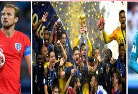 Award winners: FIFA World Cup 2018