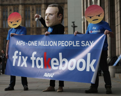 Facebook should be held liable for fake news, say UK politicians