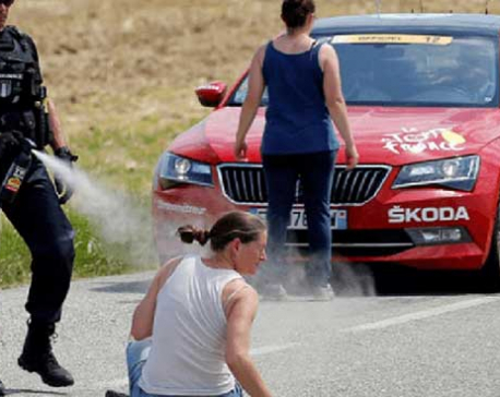France: Tour de France comes to halt amid farmers' protest