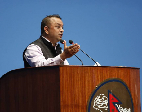"""""""Will support the government to approve the Medical Education Ordinance,"""" Gagan Thapa"""