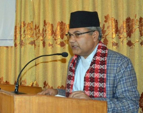 Noone has challenged democracy: Minister Baskota