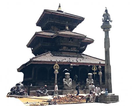 The house of the hindu guru