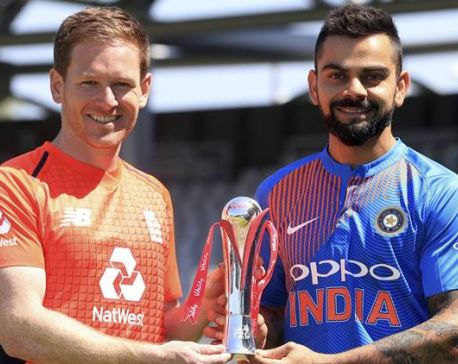 India stronger than Australia, Kohli warns Morgan