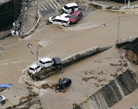 57 dead as Japan scrambles to rescue flood victims