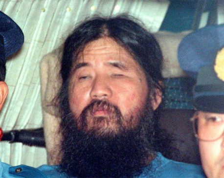 Japan cult leader behind gas attack, followers are executed