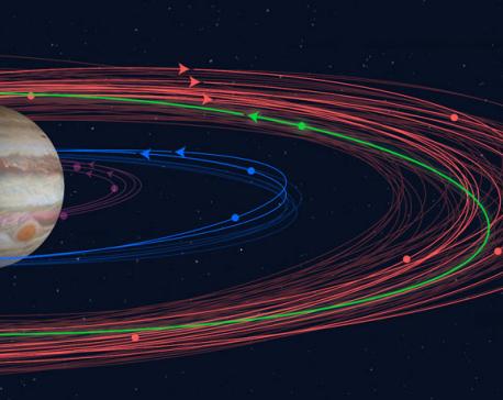 Scientists discover twelve new moons orbiting Jupiter