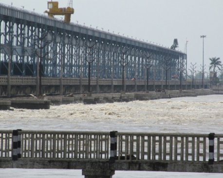 Water level in Koshi highest of the year