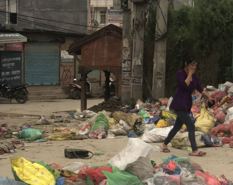 People suffer as Kathmandu Valley turns into dumping site