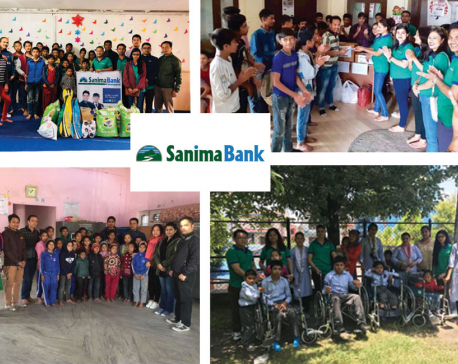 Sanima branch at Dolakha collides with its CSR priorities