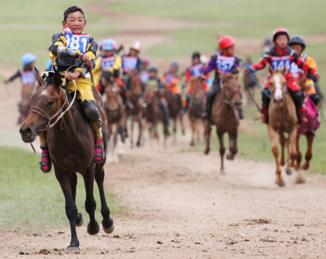 Rights groups urge better treatment for Mongolia child jockeys