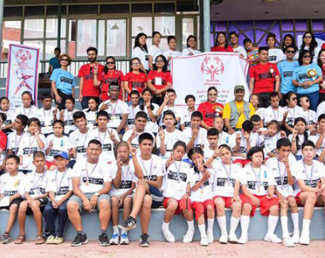 Special national games for differently abled concludes