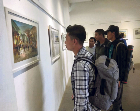 'Insights' concludes at Nepal Art Council