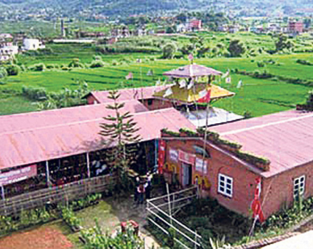 Nepali Baba promoting world peace