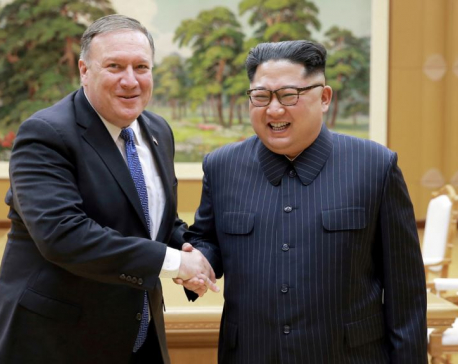 Pompeo says optimistic about ending North Korea's nuclear program