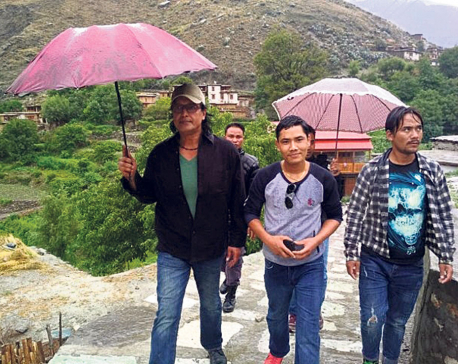 Bad weather leaves Rajesh Hamal stranded in Dolpa for days