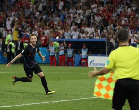 Croatia beat Russia on penalties to set up England semi-final