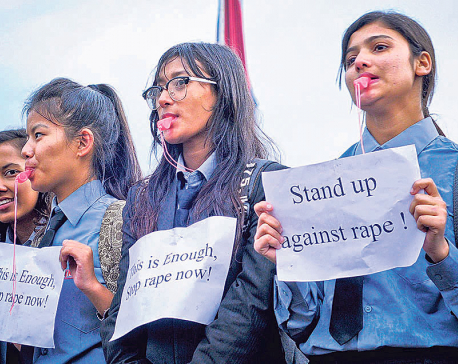 Rape cases on the rise