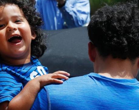 More than 300 older children split at border are reunited