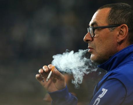 Chelsea to create smoking area for 80-a-day coach Maurizio Sarri