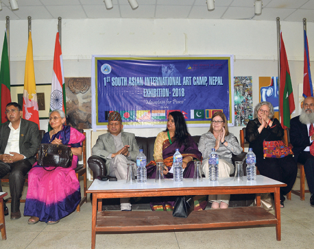 South Asian International Art Camp concludes in the capital