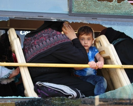U.N. calls for safe passage for 140,000 trapped in southwest Syria